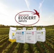 49 productos de Tradecorp autorizados por Ecocert para Agricultura Ecológica en 2020